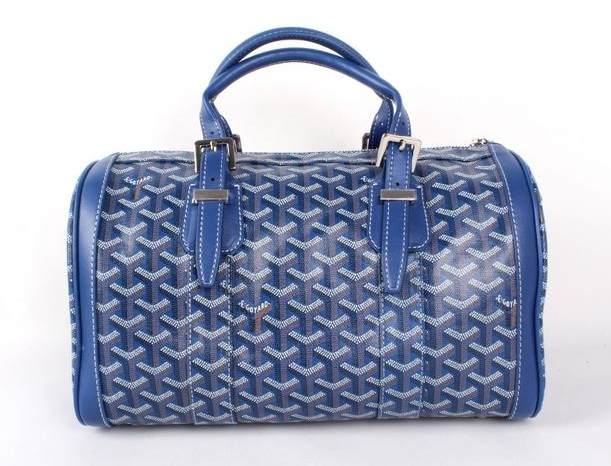 Goyard Speedy Bag with Shoulder Strap 8970 Blue