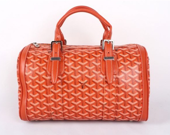 Goyard Speedy Bag with Shoulder Strap 8970 Orange