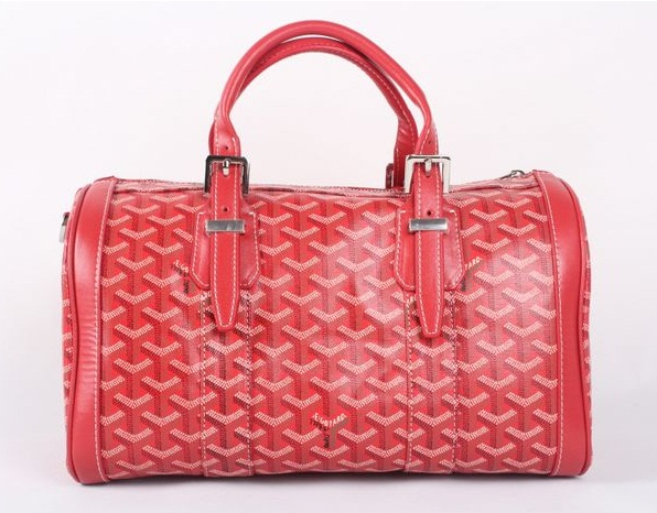 Goyard Speedy Bag with Shoulder Strap 8970 Red