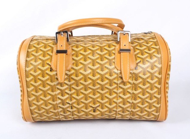 Goyard Speedy Bag with Shoulder Strap 8970 Yellow