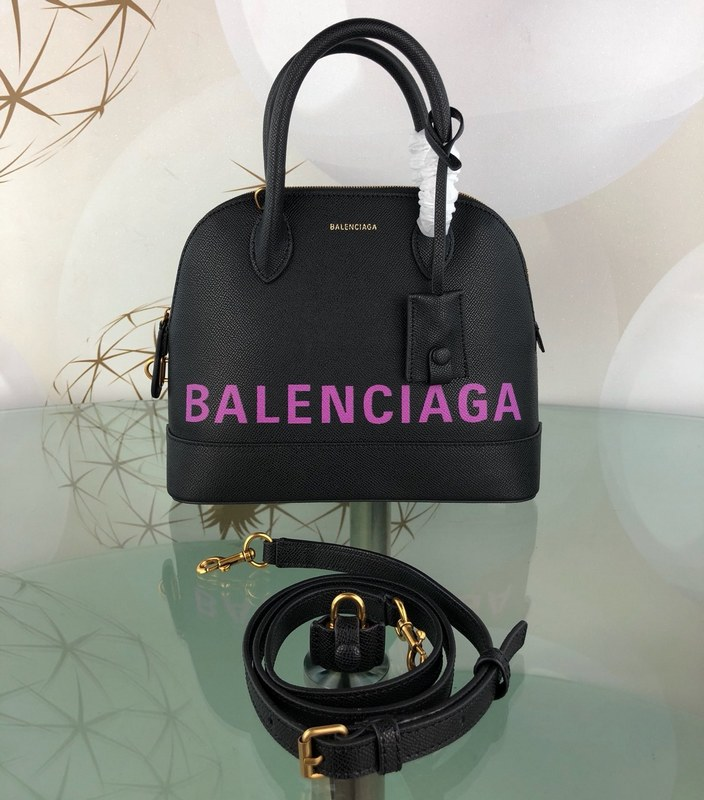 Balenciaga Ville Top Handle S 36507A Black