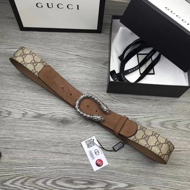 2a39bf909fc Gucci Dionysus GG Supreme Belt 505337 Taupe  505337 Taupe  -  79 ...