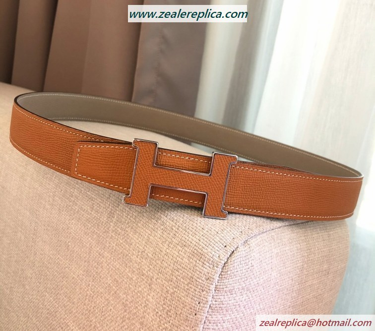 Hermes 5382 Reversible Belt H080029-1