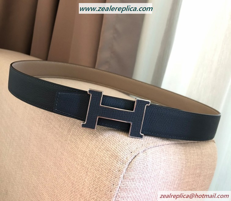 Hermes 5382 Reversible Belt H080029-4