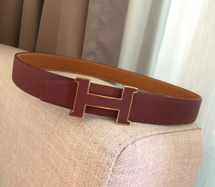 Hermes 5382 Reversible Belt H080029-5