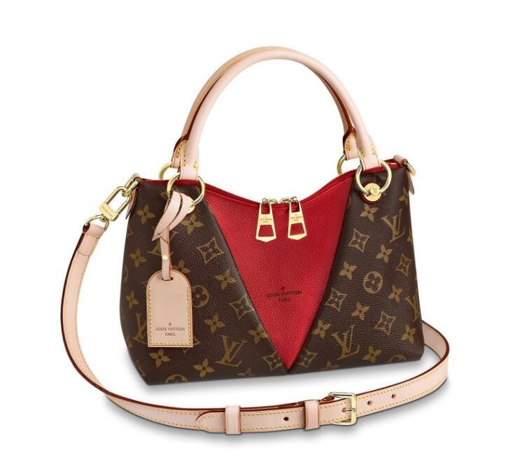 Louis Vuitton Monogram Canvas V Tote BB M43966 Cerise