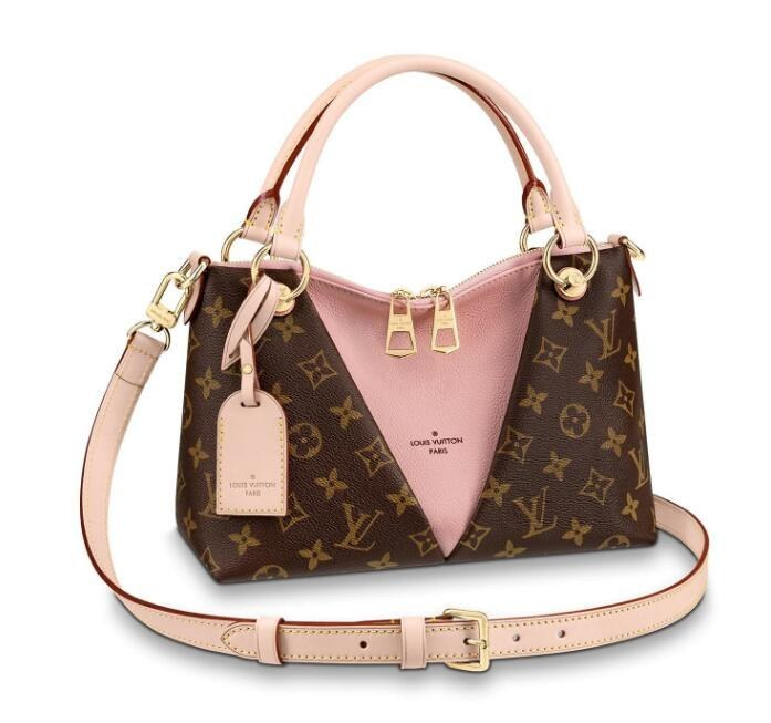 Louis Vuitton Monogram Canvas V Tote BB M43967 Rose Poudre