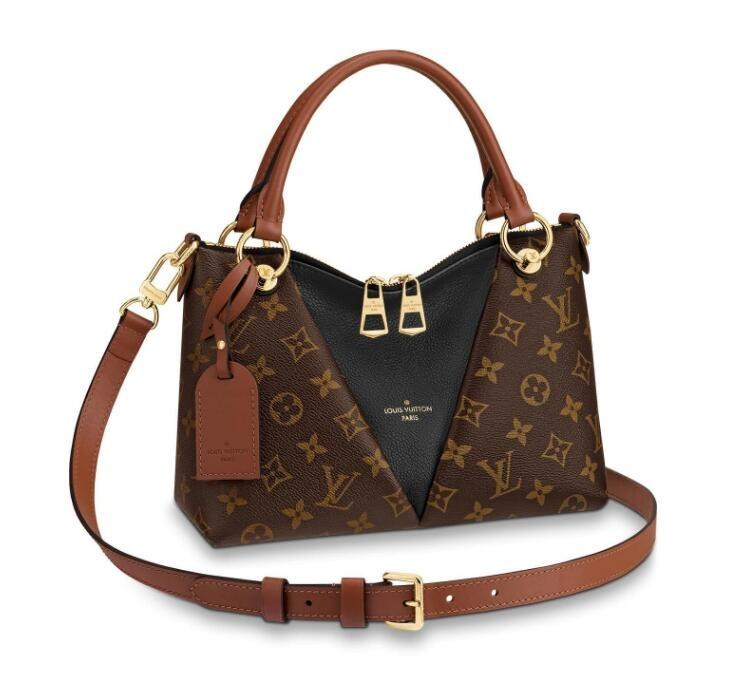 Louis Vuitton Monogram Canvas V Tote BB M43976 Noir