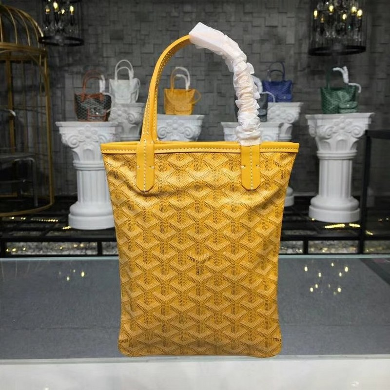 Goyard Poitiers Tote Bag Go3062 Yellow