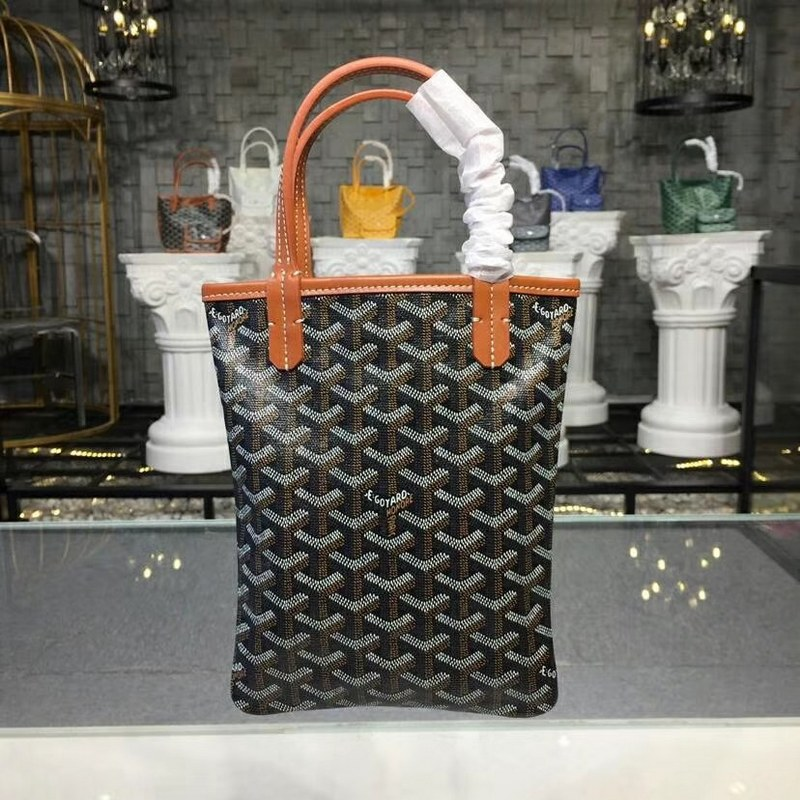 Goyard Poitiers Tote Bag Go3062 Brown