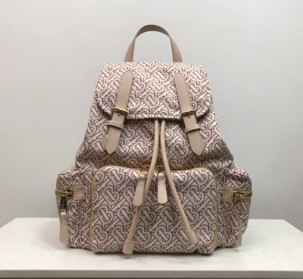 Burberry Rucksack Military Backpack 80233551 Pink