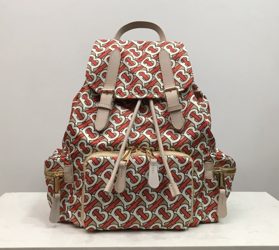 Burberry Rucksack Military Backpack 80233551 Red