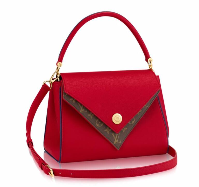 Louis Vuitton Double V M54439 Red