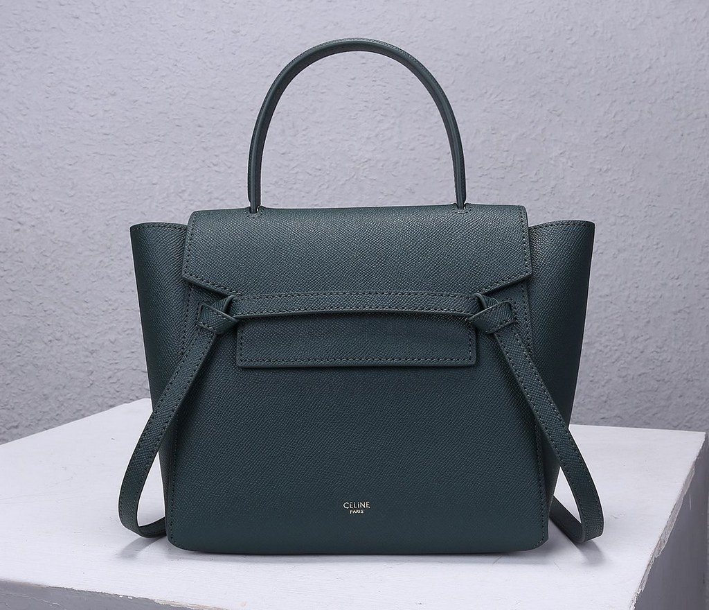 Celine Micro Belt Grained Calfskin Bag 189153 Amazone