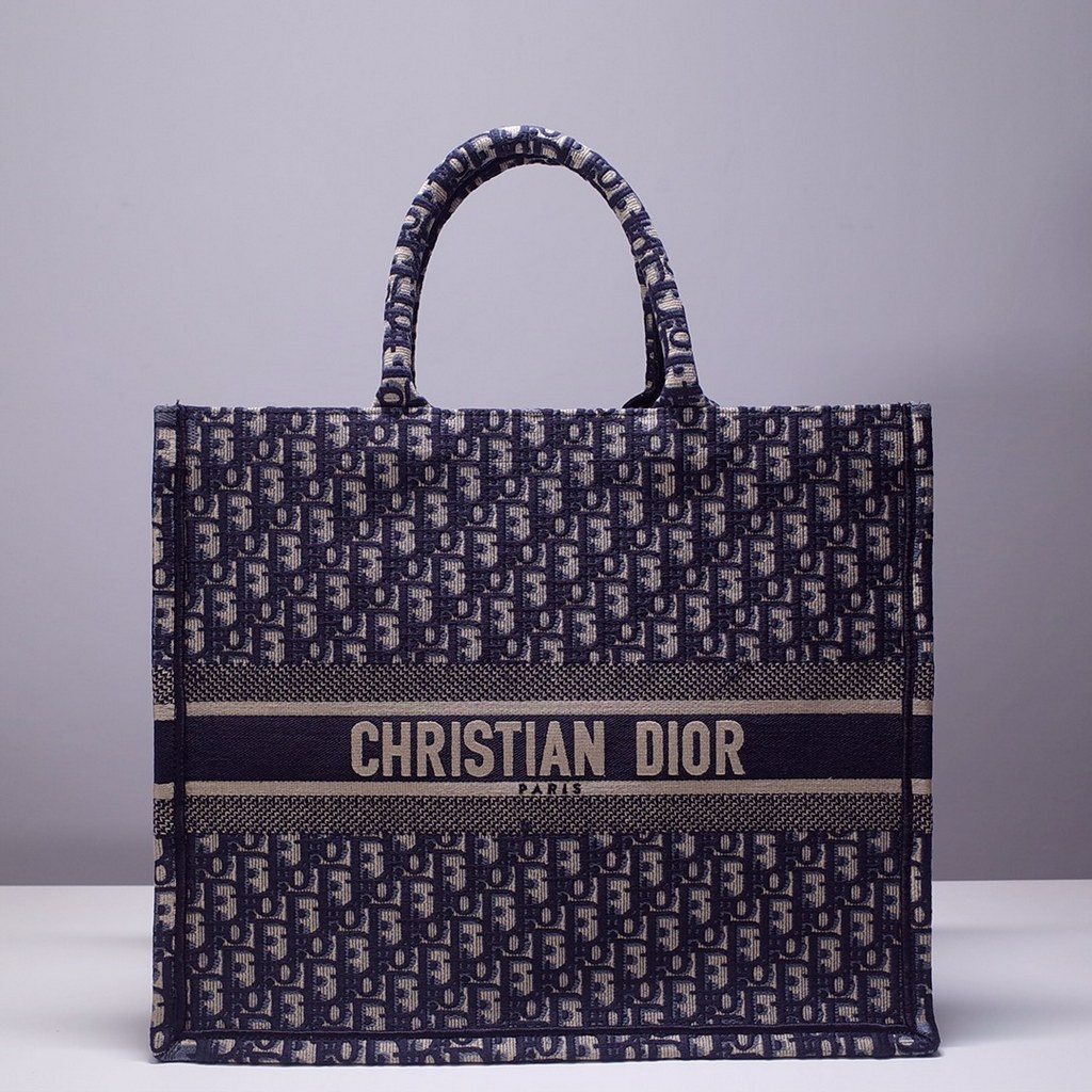 Dior Book Embroidered Canvas Tote Bag M1286ZRKQ-14