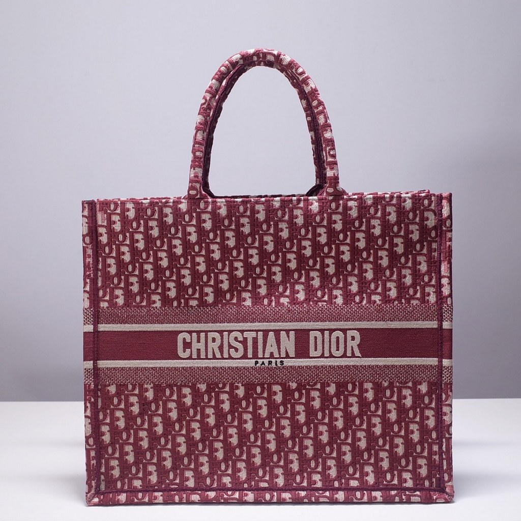 Dior Book Embroidered Canvas Tote Bag M1286ZRKQ-16