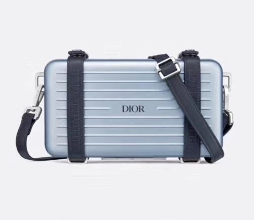 Dior and Rimowa Personal Clutch 2DRCA295 Blue