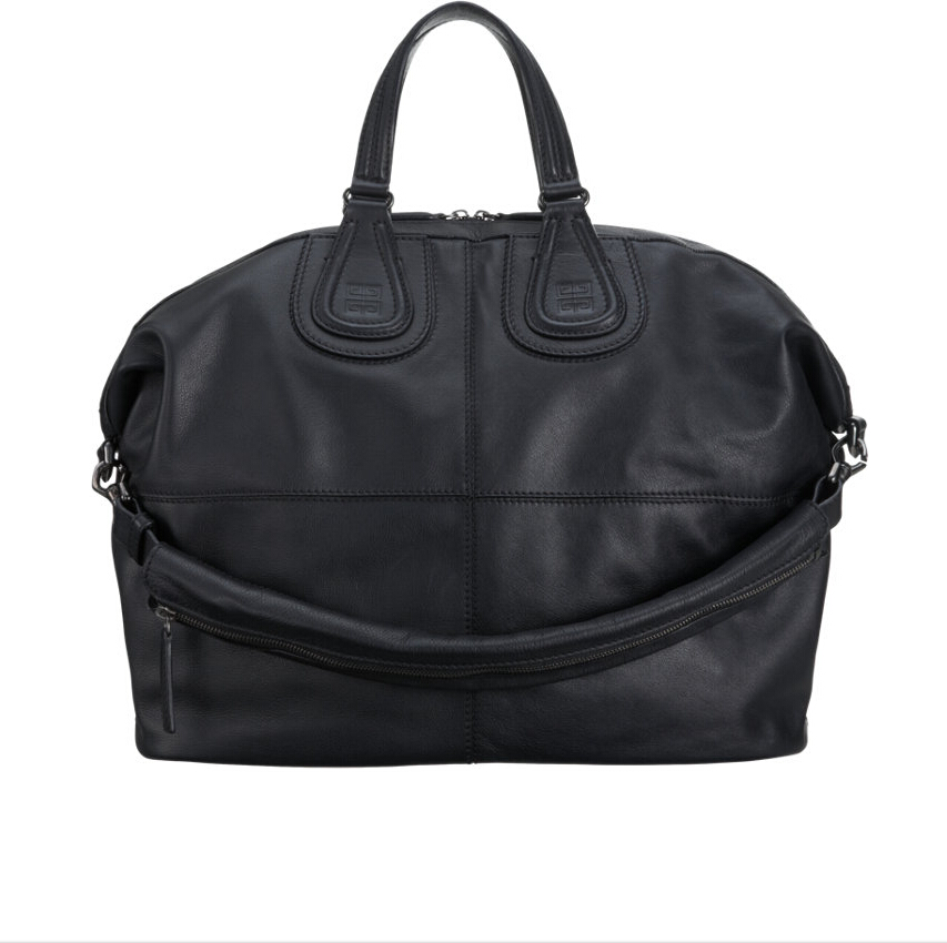 Givenchy Nightingale Grained Leather Duffel 76552 Black