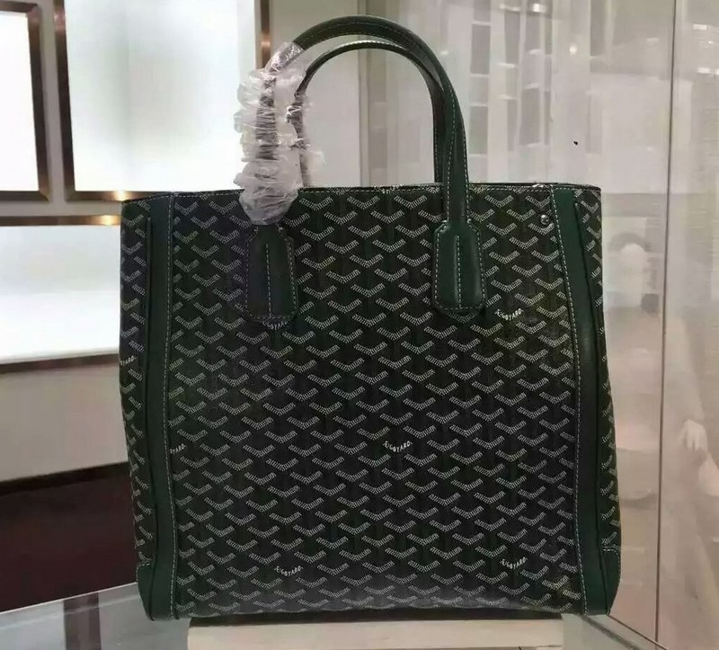 Goyard Auth Sac Voltaire Shoulder Tote 8520 Green