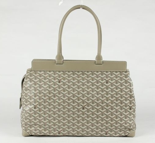 Goyard Zippered Tote Bag 8959 Grey