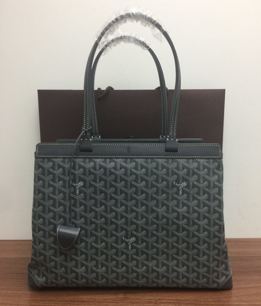 Goyard Bellechasse Biaude Tote PM 120161A Grey