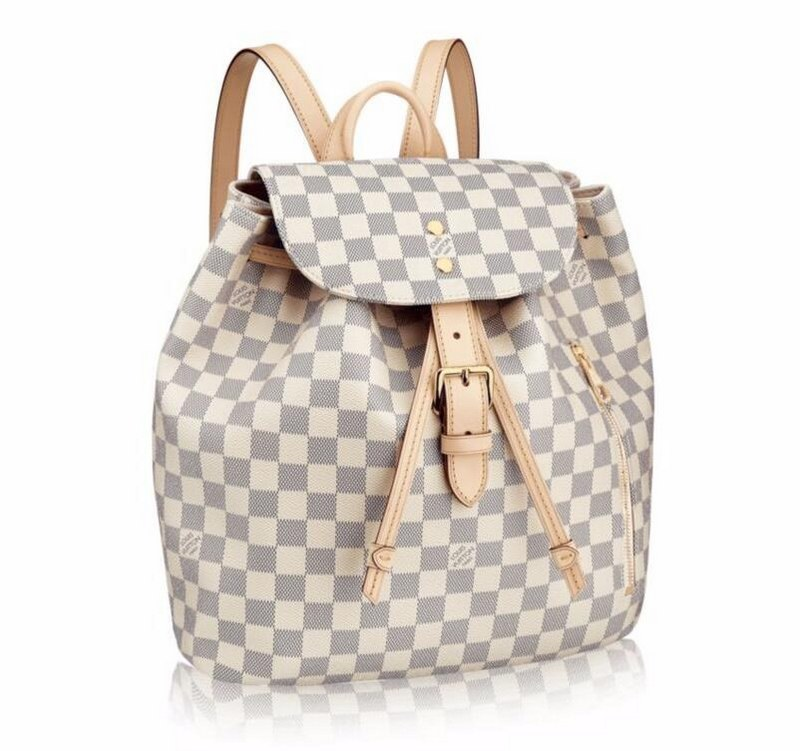 Louis Vuitton Daimer Azur Canvas Sperone Backpack N41578