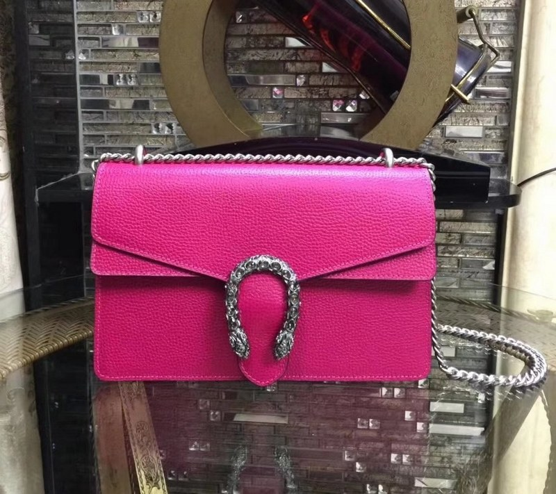 Gucci Dionysus Small Shoulder Bag 400249 Pink