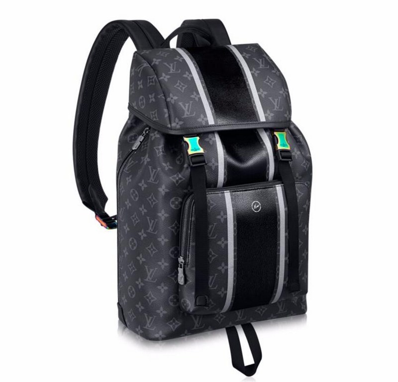 Louis Vuitton Monogram Eclipse Zack Backpack M43409