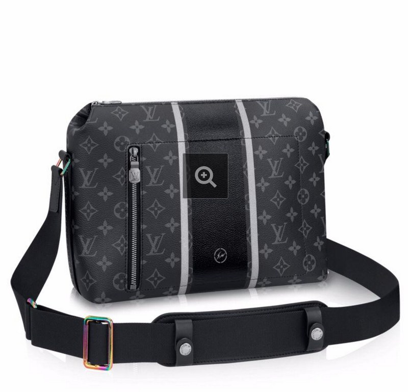 Louis Vuitton Monogram Eclipse Apollo Messenger PM M43410