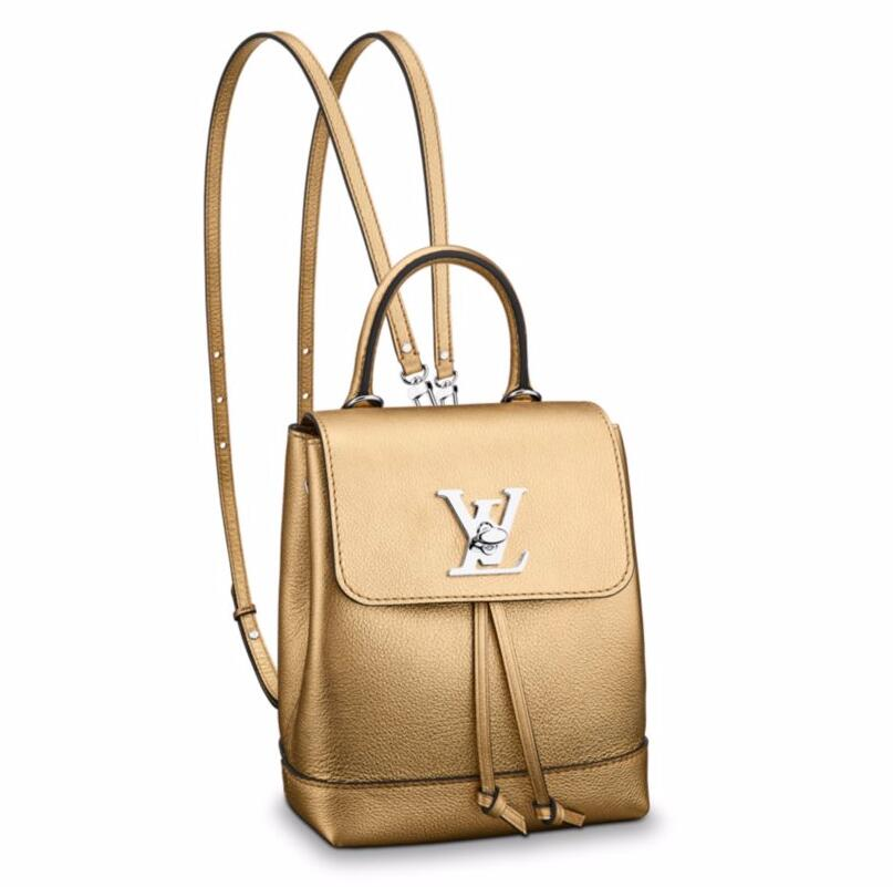 f61893f77a4f Louis Vuitton Lockme Backpack Mini M54575 Gold  M54575 Gold  -  279 ...