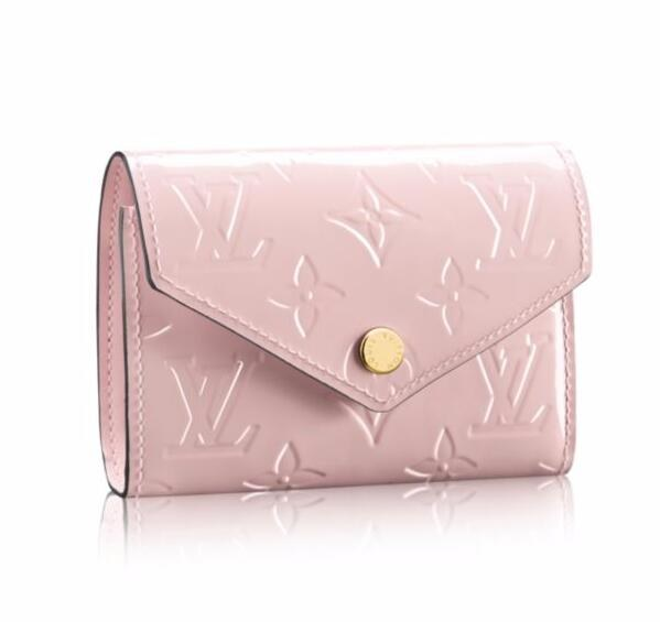 Louis Vuitton Monogram Vernis Victorine Wallet M62428 Rose Ballerine