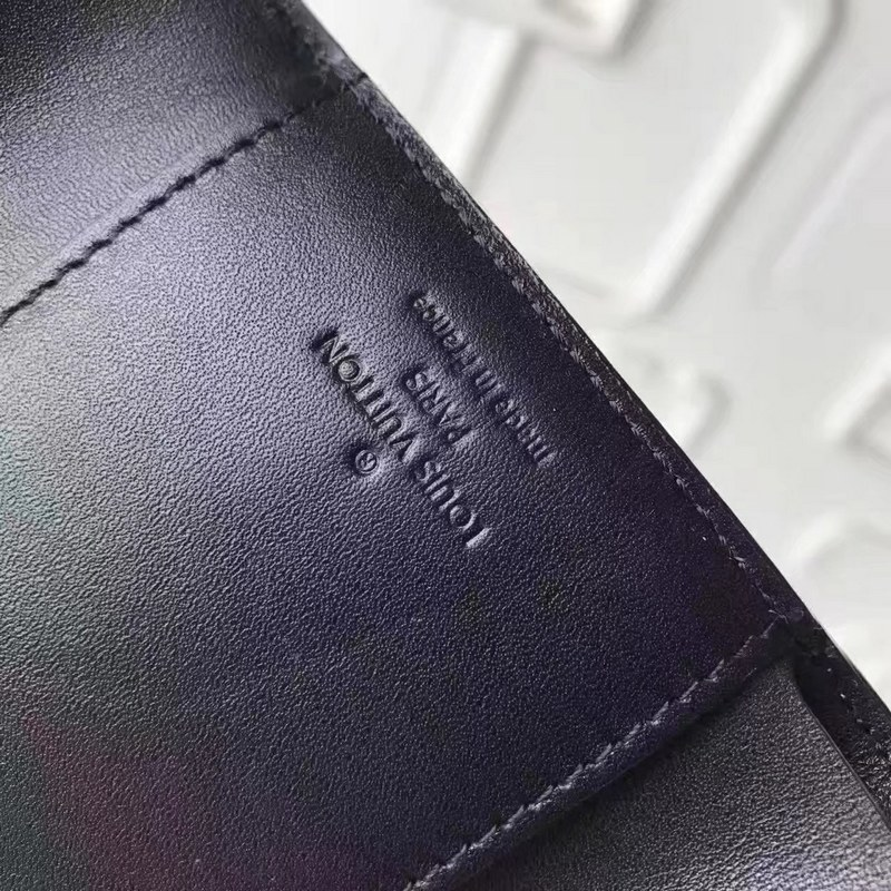 Louis Vuitton Monogram Vernis Victorine Wallet M62427 Black