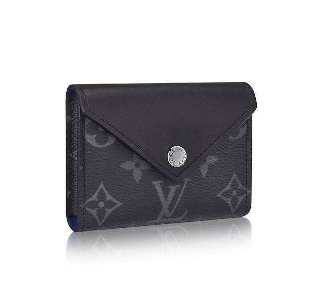 Louis Vuitton Monogram Eclipse Playing Cards and Pouch Arsene GI0198 Black