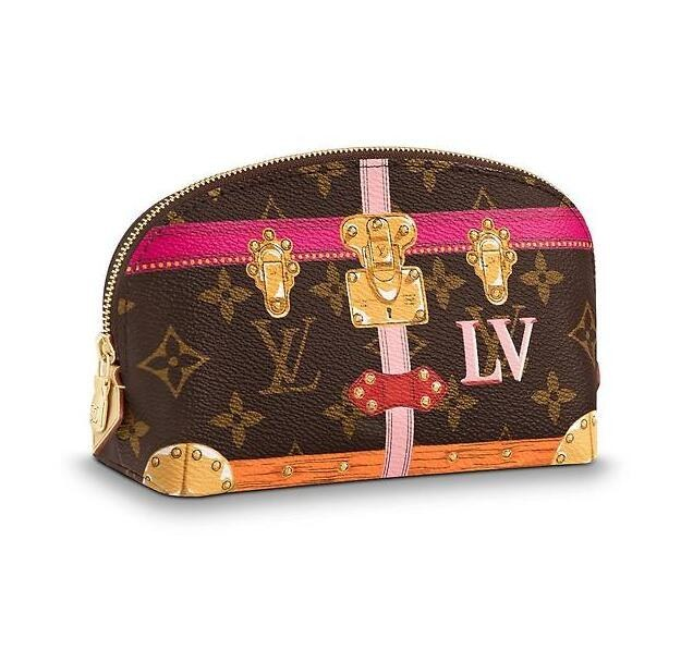 Louis Vuitton Monogram Canvas Cosmetic Pouch PM M43615