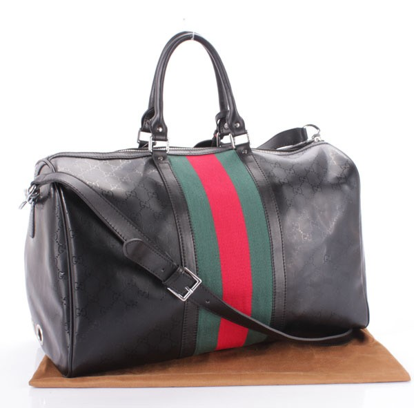 162f68516fe1 Gucci 269375 FOO7N 1060 Carry-on Duffel with Signature Web [269375 ...