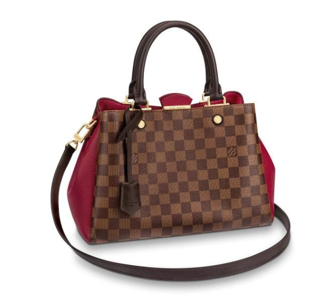 Louis Vuitton Damier Ebene Canvas Brittany N44050 Lie de Vin