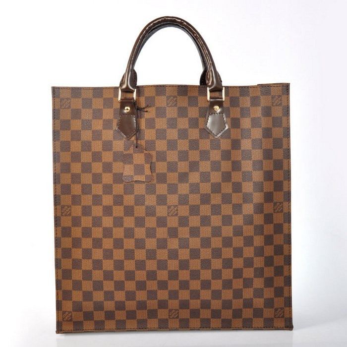 Louis Vuitton Damier Ebena Canvas SAC Plat N51140