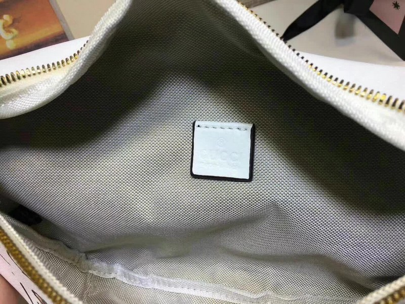 Gucci Coco Capitan Logo Belt Bag 493869 White 493869
