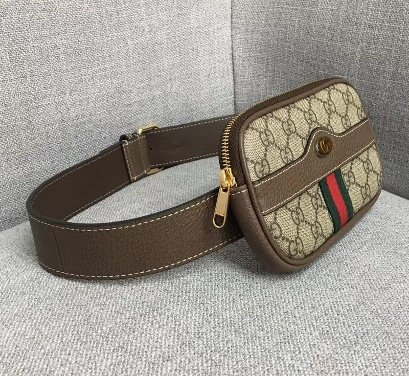 online store 3e444 a0d42 Gucci Ophidia GG Supreme Belted IPhone Case 519308 Brown Leather ...