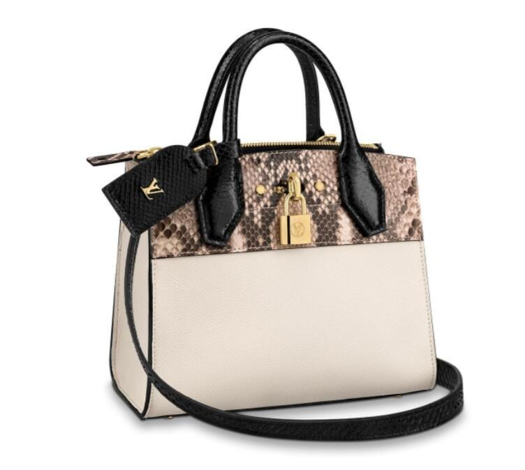 Louis Vuitton City Steamer Mini N95975 Snow White