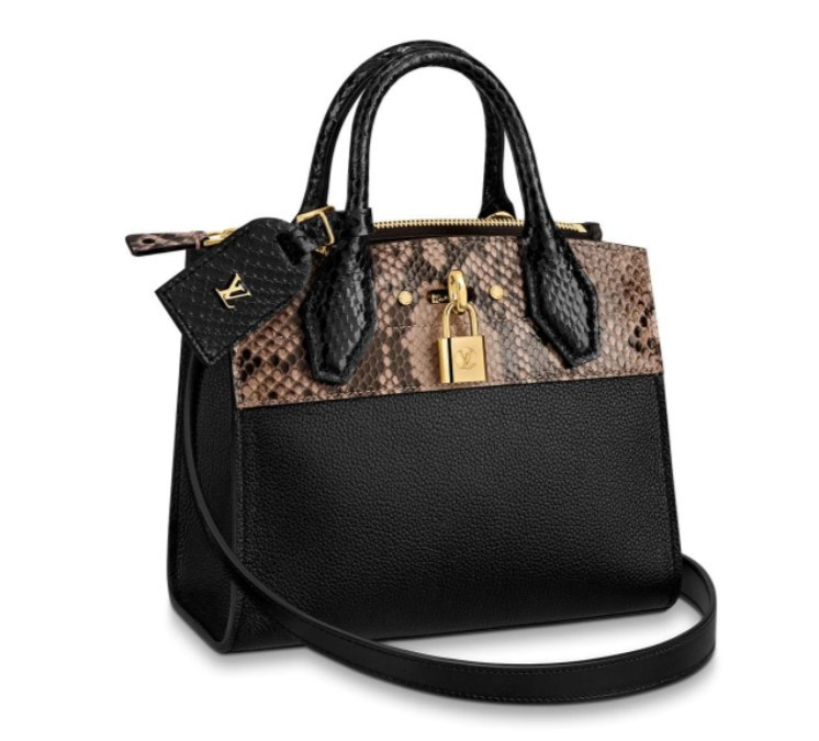 Louis Vuitton City Steamer Mini N96097 Black