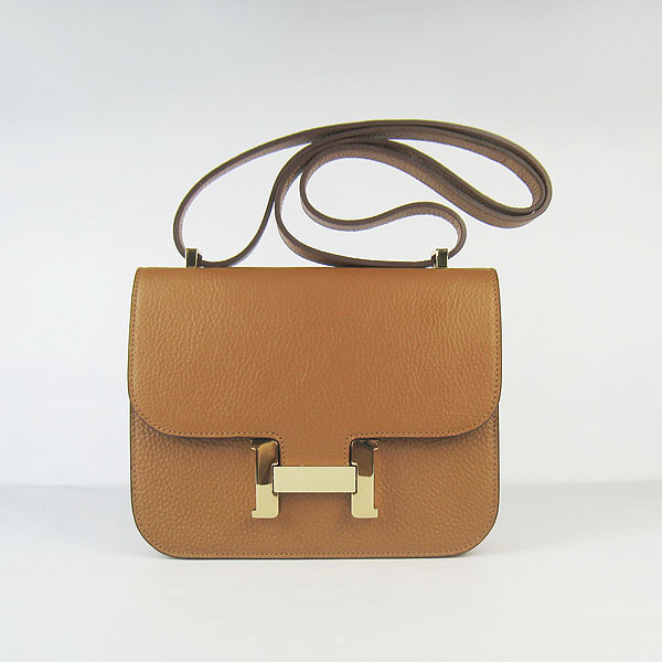 23dfa7653eaa ... where to buy hermes constance togo leather shoulder bag h017 light  coffeegold hardware larger image 72c65