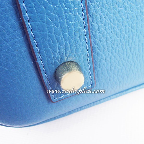 Hermes Birkin 40CM Golden Hardware Togo Bag 6099 Blue