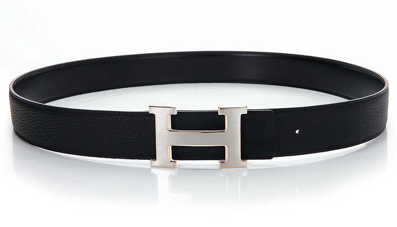 Hermes Original Leather Reversible Belt H0328-10 Black