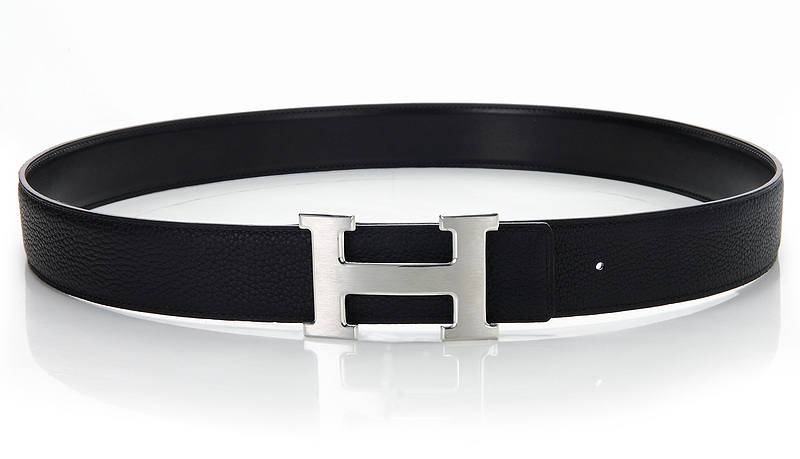 Hermes Original Leather Reversible Belt H0328-11 Black