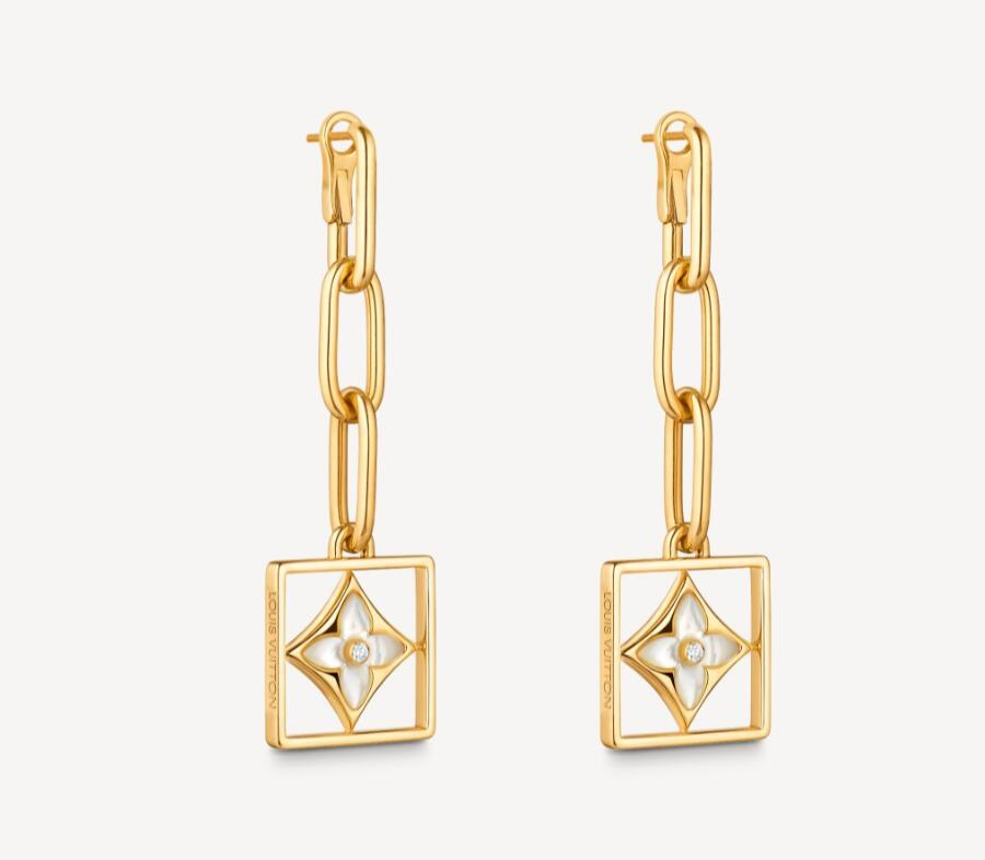 Louis Vuitton B Blossom Earrings Q96790