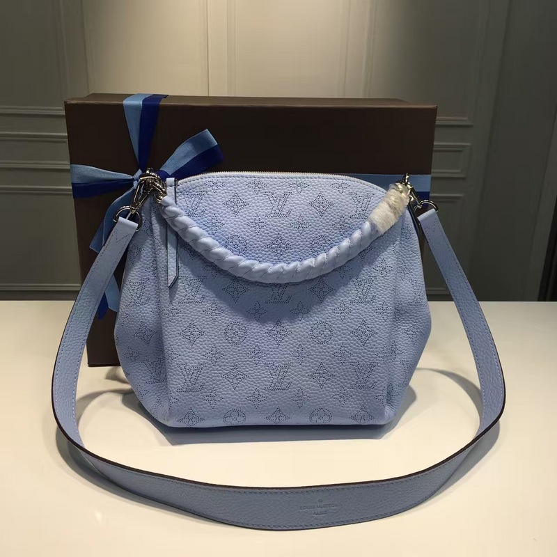 Louis Vuitton Mahina Babylone Chain BB M51223 Blue