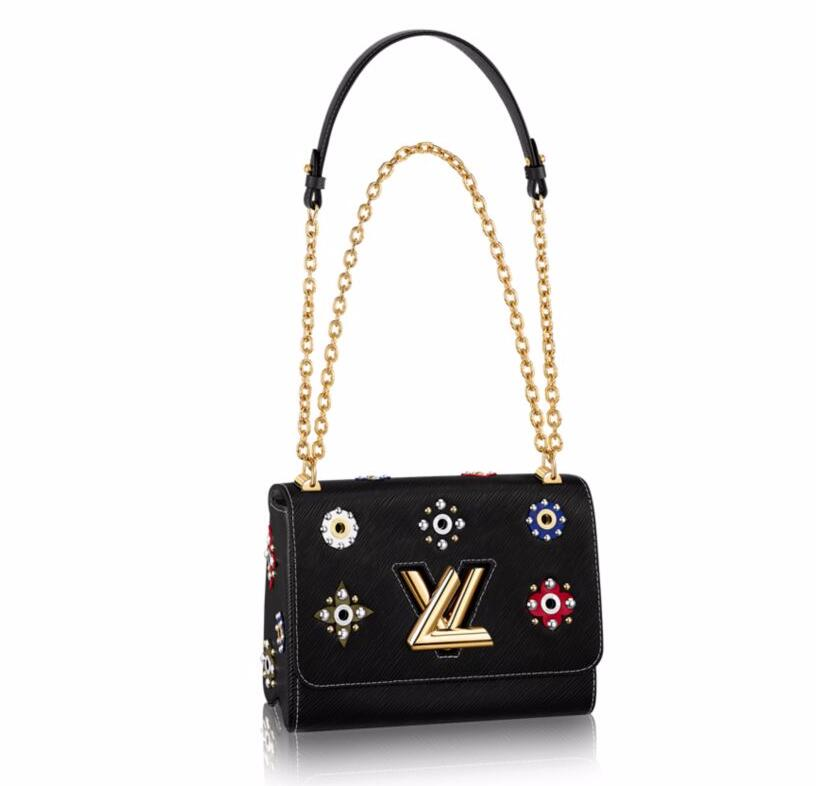 Louis Vuitton Epi Leather Twist MM M54217 Noir