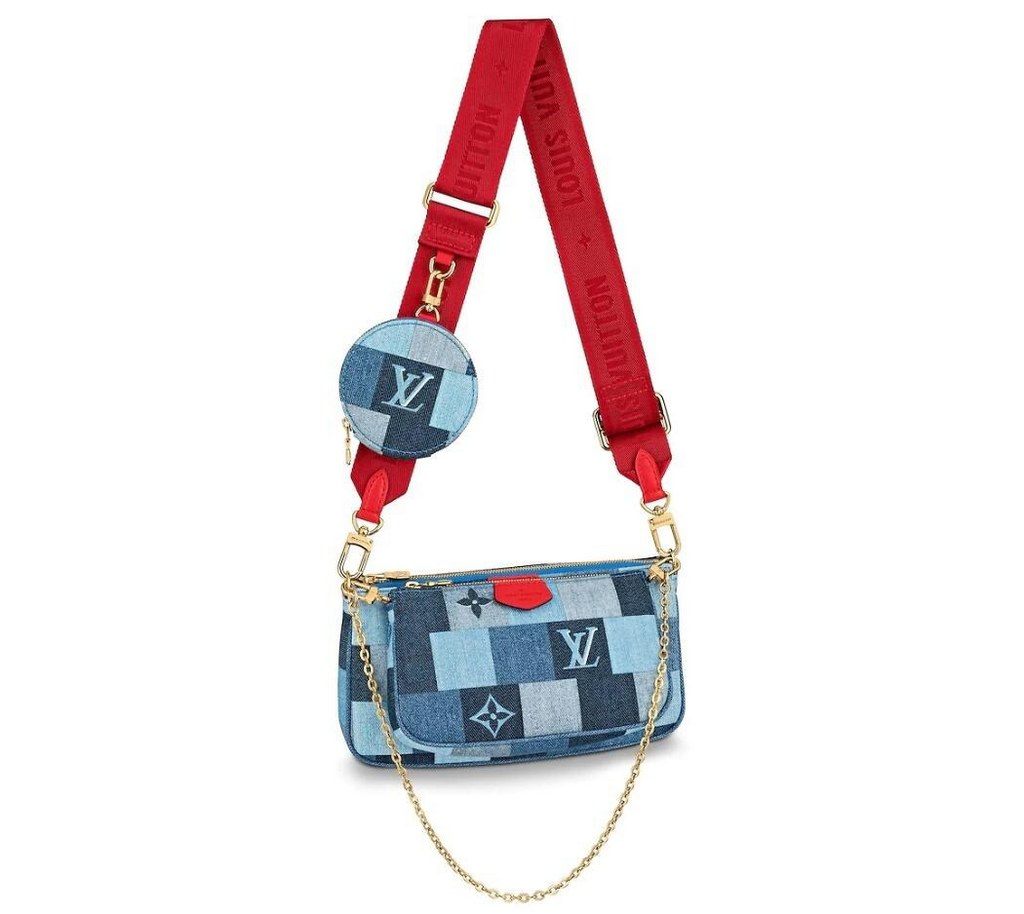 Louis Vuitton Monogram Denim Multi Pochette Accessoires M44990
