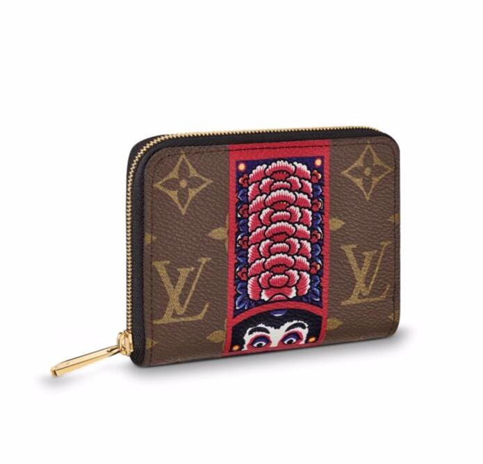 Louis Vuitton Monogram Canvas Zippy Coin Purse M62394